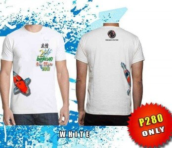 koi fish show buglasan tshirt white color 2nd Buglasan Koi Show 2017
